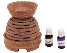 Electric Soap Stone, Aroma Lamp Set