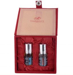 Gift Set, Blue and Red