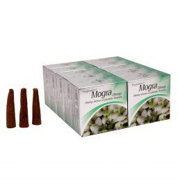 Mogra, Incense Cones, Dhoop Batti, Set of 10