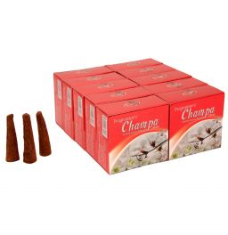 Champa, Incense Cones, Dhoop Batti, Set of 10