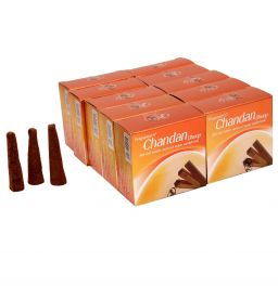 Chandan, Incense Cones, Dhoop Batti, Set of 10